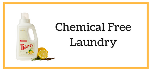 Chemical Free Laundry with Thieves Laundry Soap