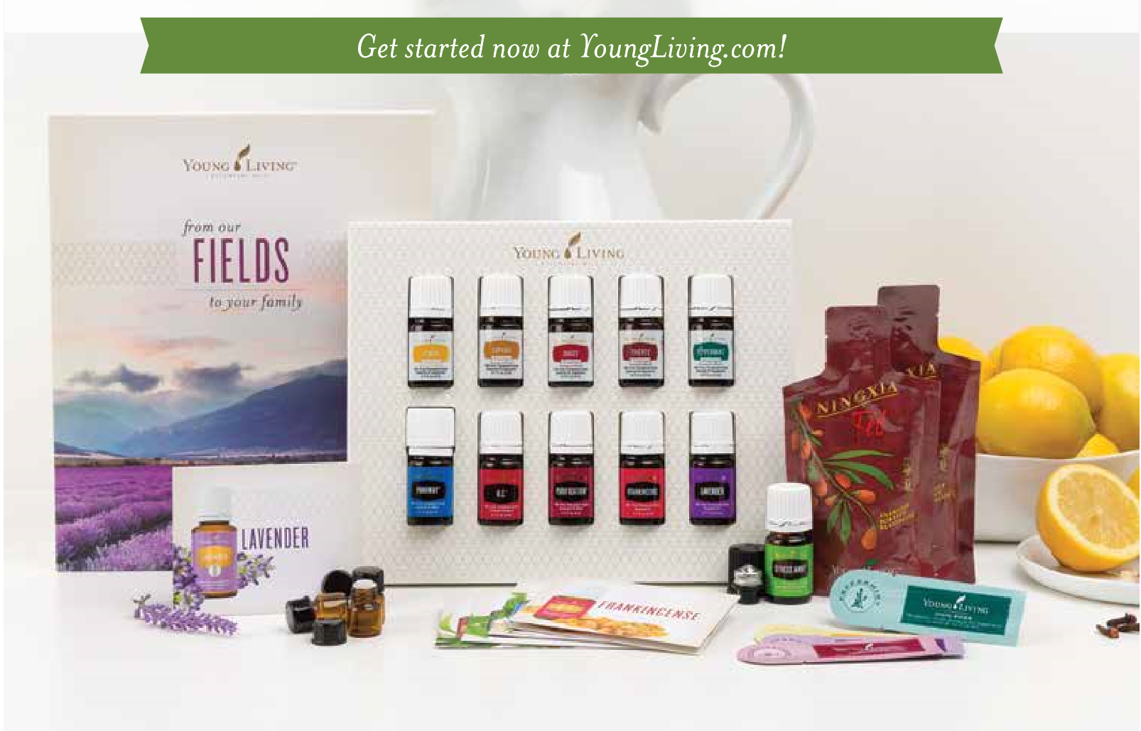 How to Order the Essential Oils Premium Starter Kit