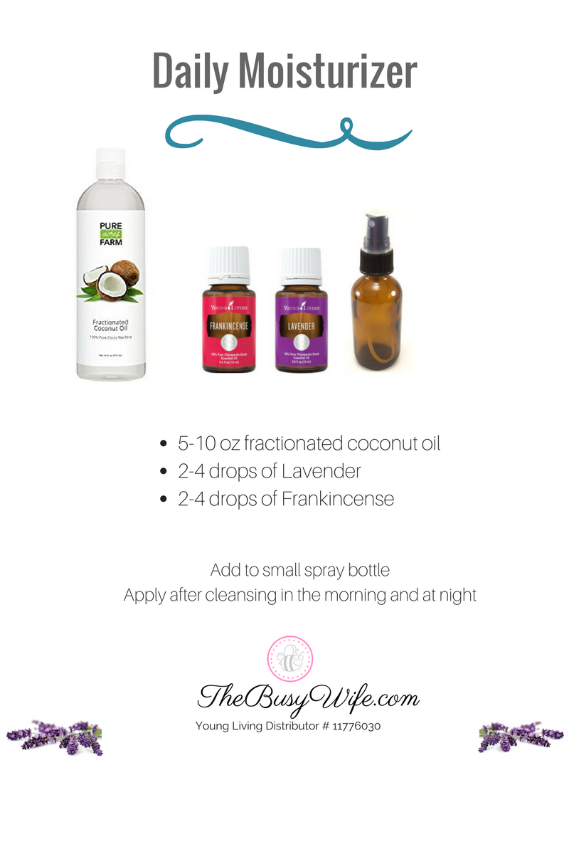 Daily Moisturizer with Essential Oils
