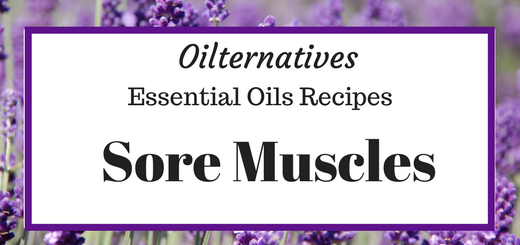 Oilternatives – Sore Muscle Relief with Essential Oils