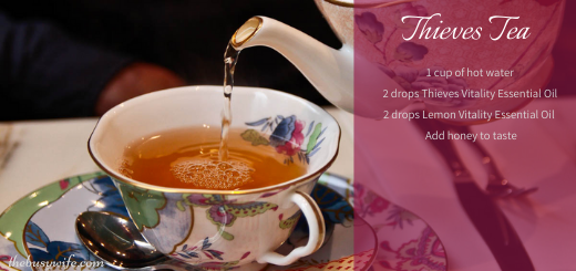 Beat the Cold & Flu with Thieves Tea