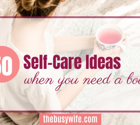 50 Self Care Ideas