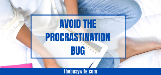 How to avoid the procrastination bug