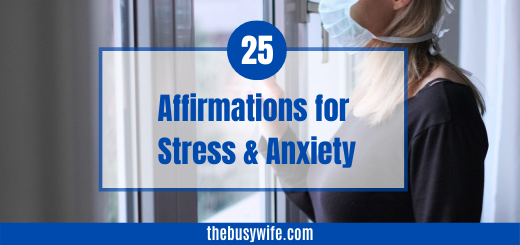 Affirmations to Reduce Stress & Anxiety
